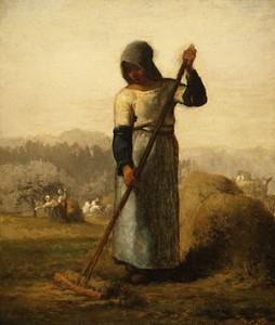 la mujer del rastrillo