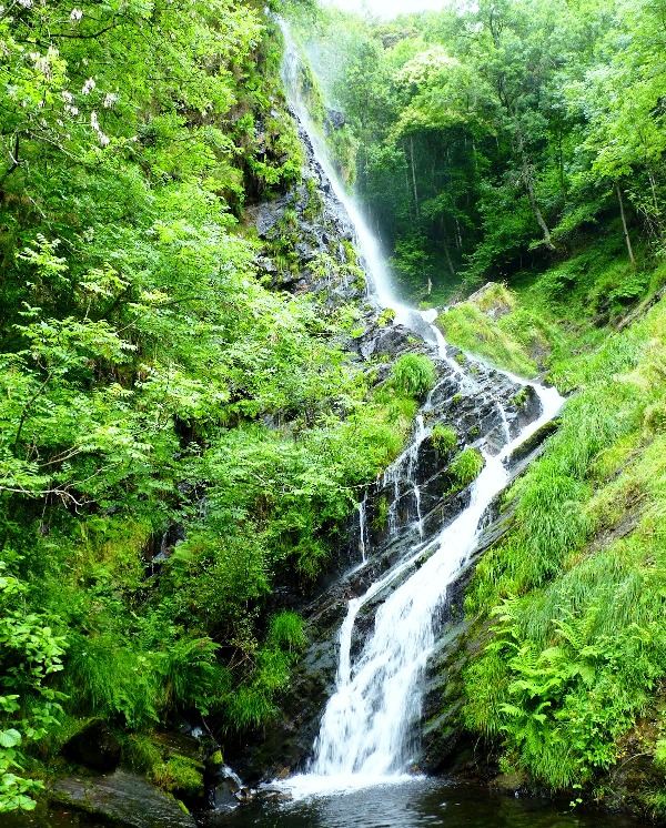 ruta de la cascada