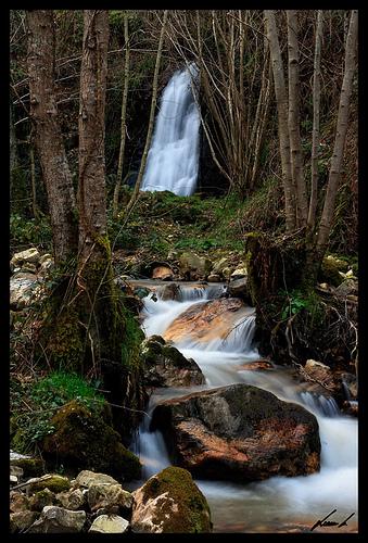 Cascada de Nonaya Asturias