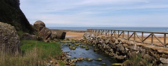 Playa de la Ñora, Gijón